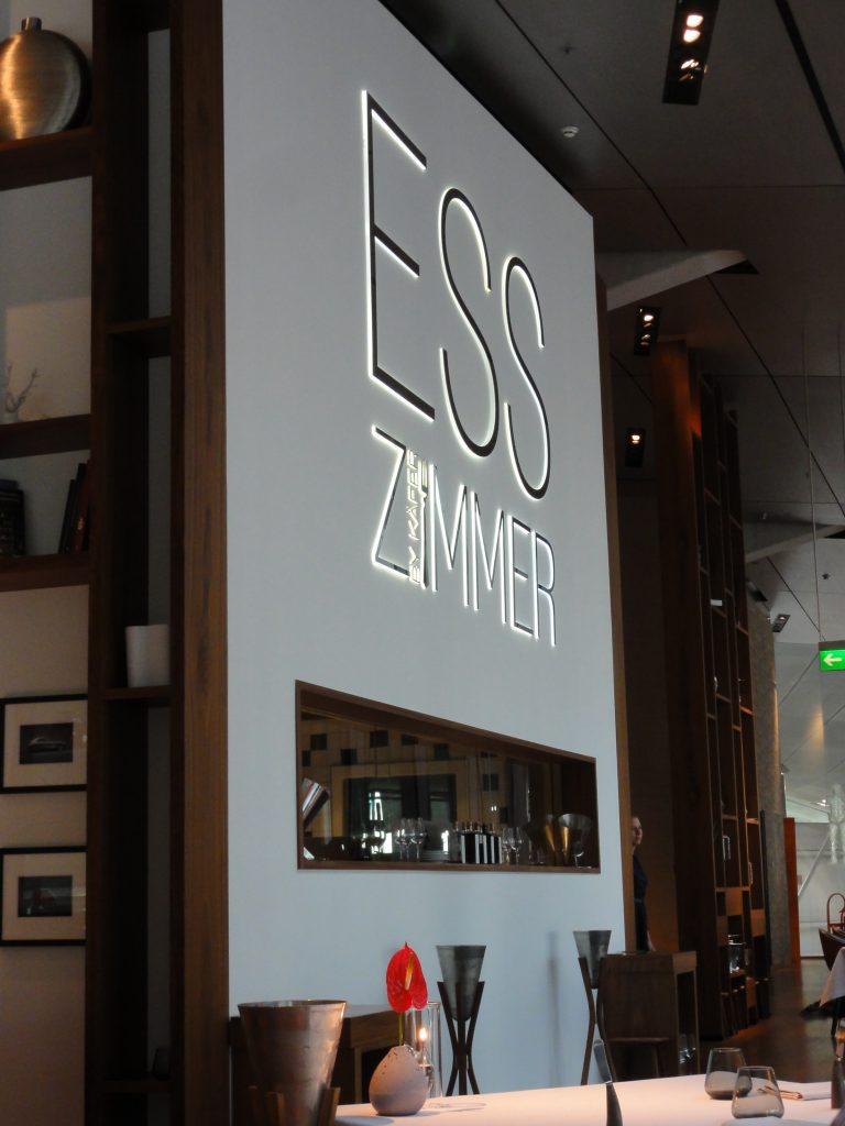 Esszimmer U2013 Fine Dining Restaurant In Der Bmw Welt U2013 Müchen